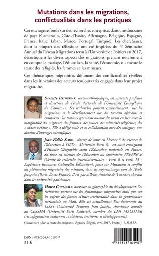 4eme Mutations dans les migrations, conflictualités dans les pratiques