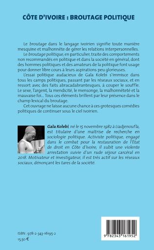 4eme Côte d'Ivoire : broutage politique