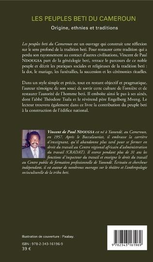 4eme Les peuples beti du Cameroun