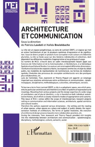 4eme Architecture et communication