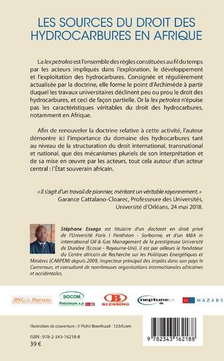 4eme Les sources du droit des hydrocarbures en Afrique