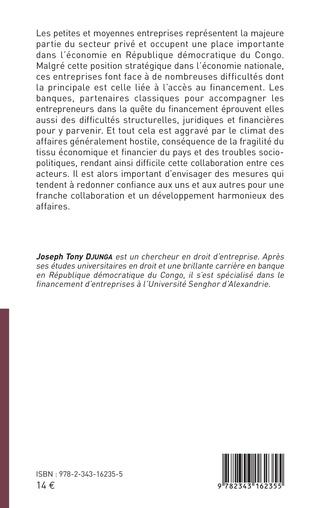 4eme Les petites et moyennes entreprises congolaises face aux acteurs classiques du financement