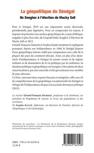 4eme La géopolitique du Sénégal