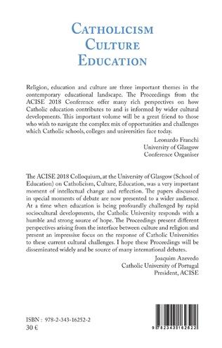 4eme Catholicism Culture Education