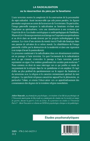 4eme La radicalisation