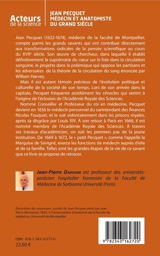 4eme Jean Pecquet médecin et anatomiste du grand siècle