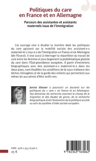 4eme Politiques du <em>care</em> en France et en Allemagne