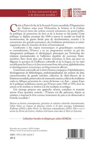 4eme Le livre, instrument de paix et de démocratie mondiale ?