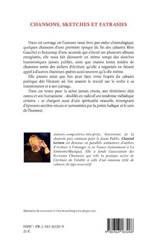 4eme Chansons, sketches et fatrasies