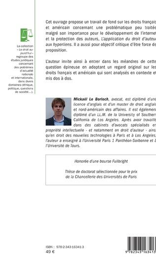 4eme L'application du droit d'auteur aux hyperliens