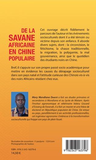 4eme De la savane africaine en Chine populaire