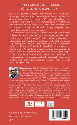 4eme Prix et fiscalité des produits pétroliers au Cameroun