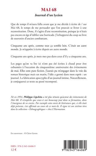 4eme Mai 68 Journal d'un lycéen
