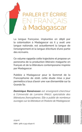 4eme Parler et écrire en français à Madagascar