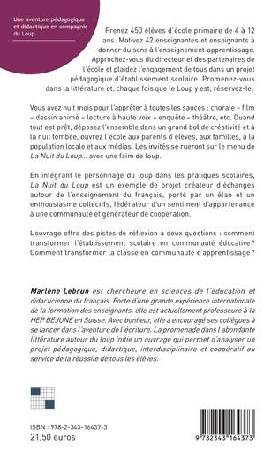 4eme Une aventure pédagogique et didactique en compagnie du Loup
