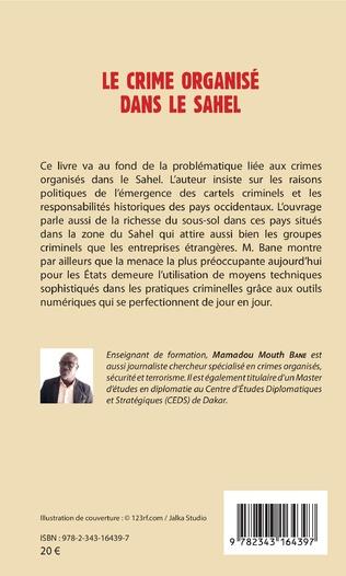 4eme Le crime organisé dans le Sahel