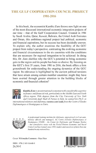4eme The Gulf Cooperation Council Project