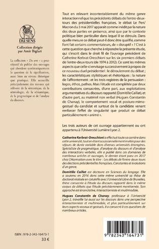 4eme Le débat Le Pen/Macron du 3 mai 2017 : Un débat