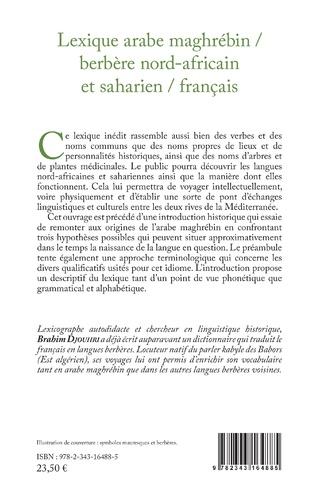4eme Lexique arabe maghrébin / berbère nord-africain et saharien / français