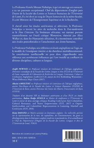 4eme Postcolonialité et droits de l'homme. Etudes africaines et postcoloniales Tome 1