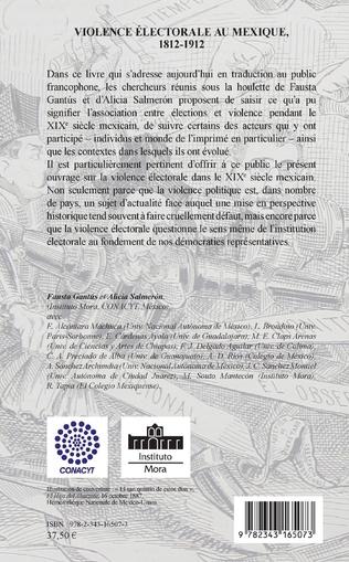 4eme Violence électorale au Mexique, 1812-1912