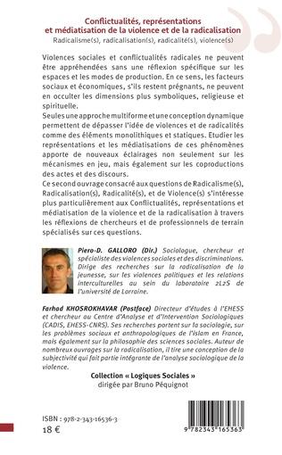 4eme Conflictualités, représentations et médiatisaton de la violence et de la radicalisation