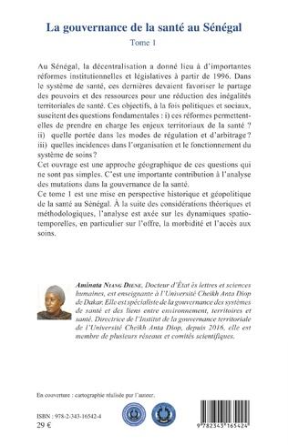 4eme La gouvernance de la santé au Sénégal Tome 1