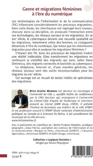 4eme Genre et migrations féminines à l'ère du numérique