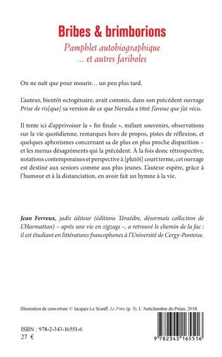 Bribes Et Brimborions Pamphlet Autobiographique Et