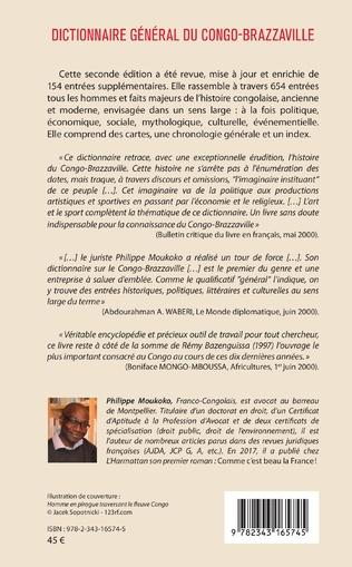 4eme Dictionnaire général du Congo-Brazzaville 2e édition