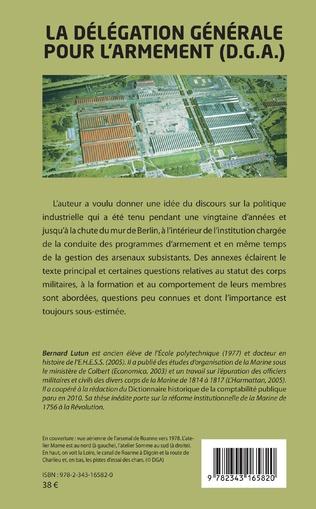 4eme La délégation générale pour l'armement (D.G.A.)
