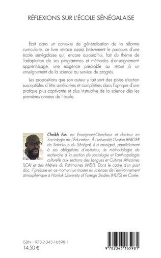 4eme Réflexions sur l'école sénégalaise