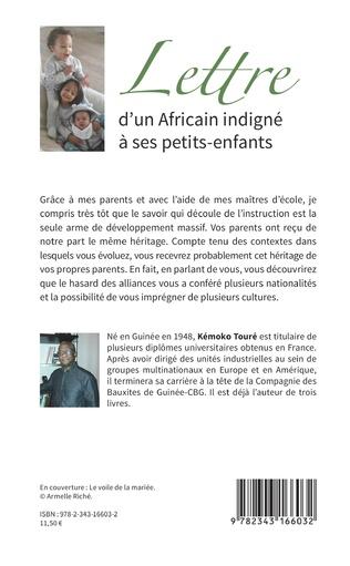 4eme Lettre d'un Africain indigné à ses petits-enfants