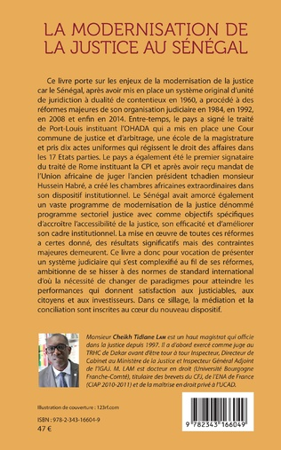4eme La modernisation de la justice au Sénégal