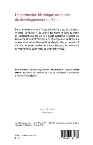 4eme Le patrimoine historique au service du développement du Bénin