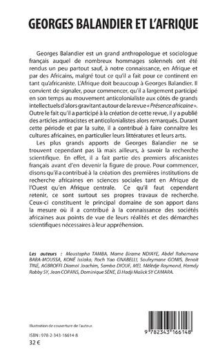 4eme Georges Balandier et l'Afrique