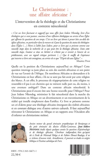 4eme Le Christianisme : une affaire africaine ?