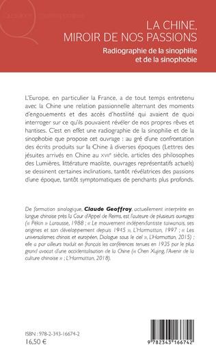 4eme La Chine, miroir de nos passions