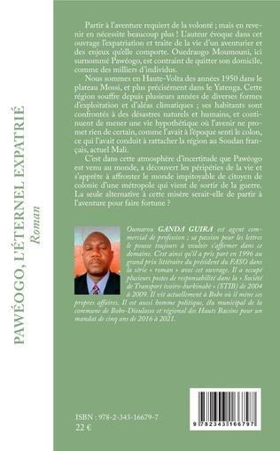 4eme Pawéogo, l'éternel expatrié
