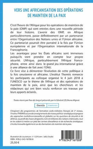4eme Vers une africanisation des opérations de maintien de la paix