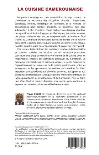 4eme La cuisine camerounaise