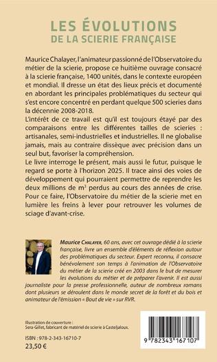 4eme Les évolutions de la scierie française
