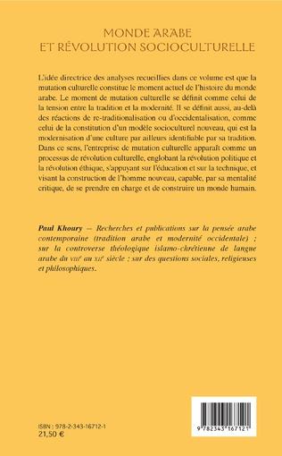 4eme Monde arabe et révolution socioculturelle