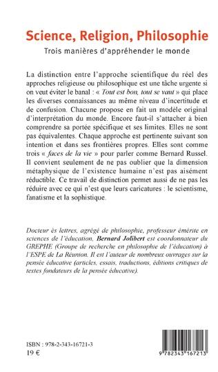 4eme Science, Religion, Philosophie