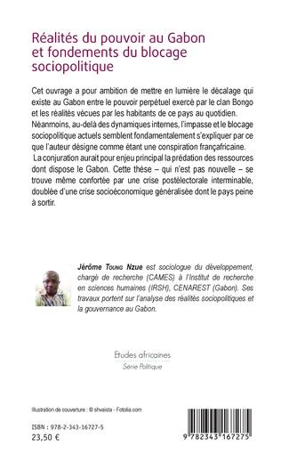 4eme Réalités du pouvoir au Gabon et fondements du blocage sociopolitique