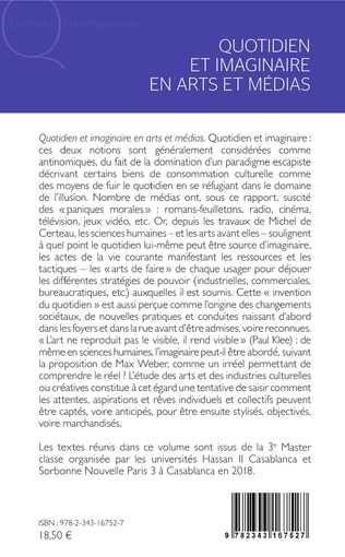 4eme Quotidien et imaginaire en arts et médias