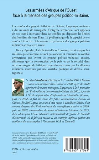 4eme Les armées d'Afrique de l'Ouest face à la menace des groupes politico-militaires