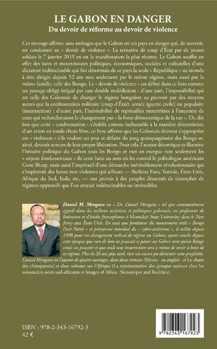4eme Le Gabon en danger