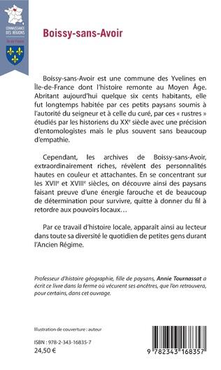 Boissy Sans Avoir Histoire De Mon Village Aux Xviie