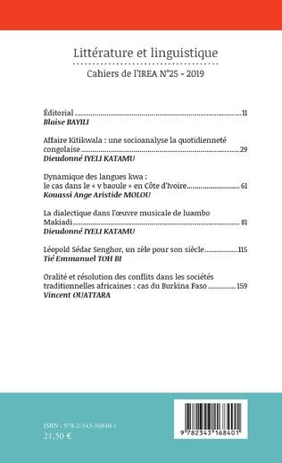 4eme Littérature et linguistique